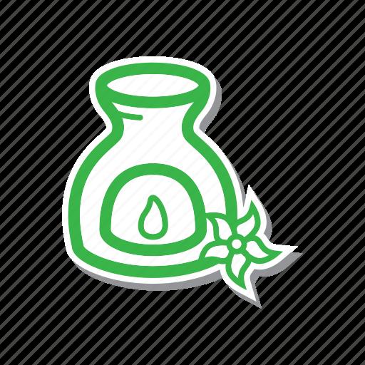 aromatherapy, cartoon, illustration, line, spa, thin, thin line icon