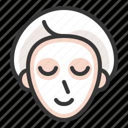 beauty, face masks, masks, spa icon