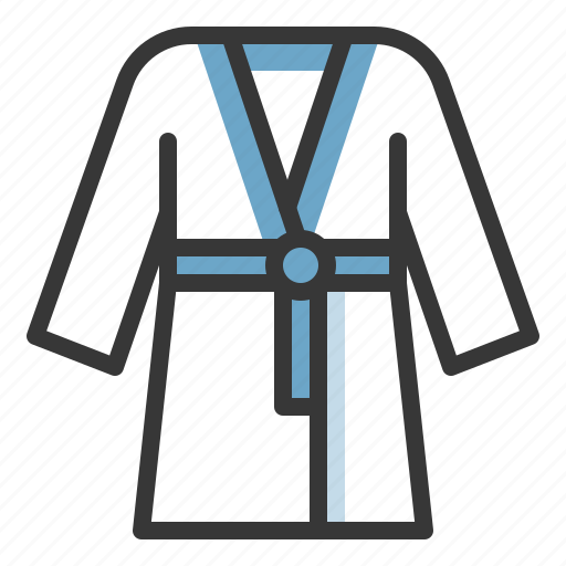 Sauna, sauna robe, sauna uniform, spa icon - Download on Iconfinder