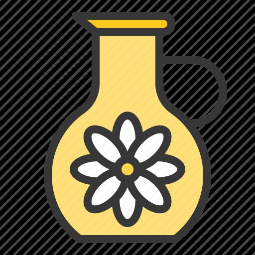 Floral, floral essence, jug, spa icon - Download on Iconfinder
