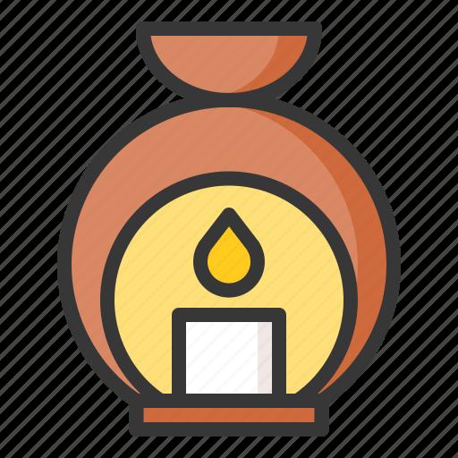 aroma, aroma lamp, aromaterapy, lamp, spa icon