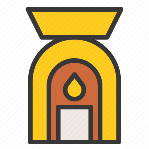 Aroma, aroma spa lamp, lamp, spa, spa lamp icon - Download on Iconfinder