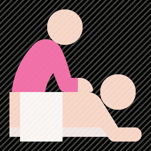 Knead, massage, rub, spa icon - Download on Iconfinder