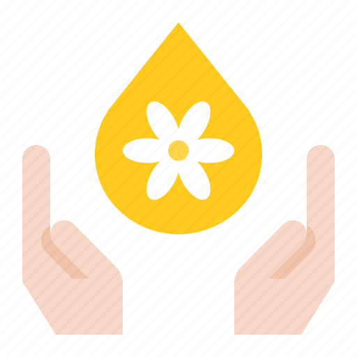 hand, moisturizer, oil, spa icon