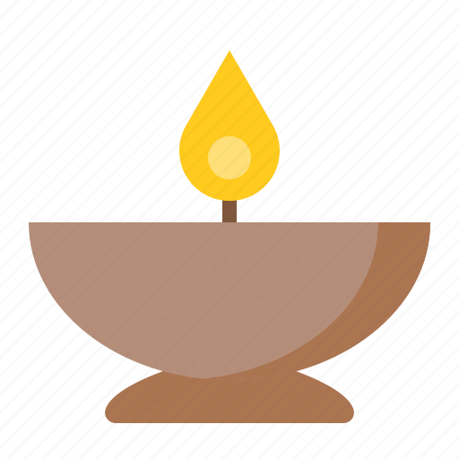 Bowl, candle, candle in bowl, spa icon - Download on Iconfinder