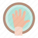 spa, hand, hand soak, manicure, hand spa icon