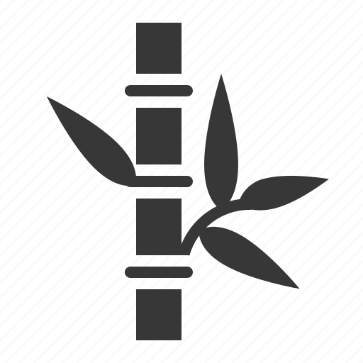 bamboo, bamboo sign, leaf, spa icon