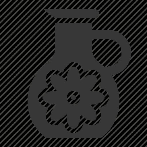 Floral essence, jug, spa icon - Download on Iconfinder