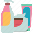 skincare, cosmetics, moisturizer, beauty, product icon