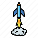 astronomy, craft, launch, rocket, scifi, space