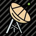 astronomy, dish, satellite, space