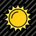astronomy, space, star, sun icon