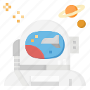 astronaut, avatar, galaxy, space, universe icon