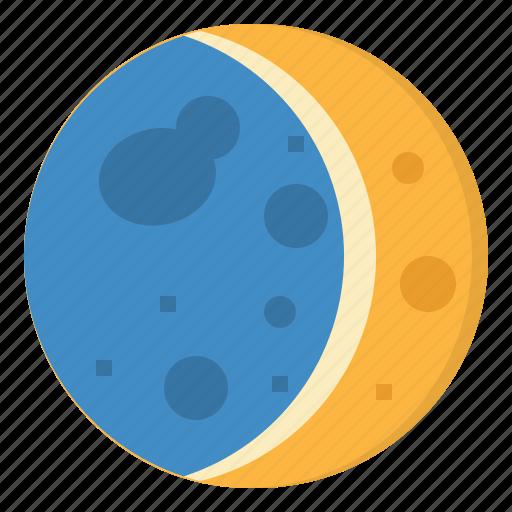 astronomy, moon, night, stars, weather icon