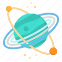 neptune, planet, solar, space, system icon