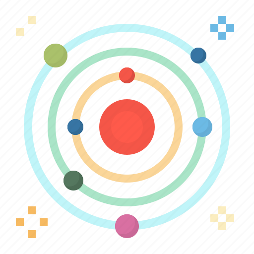 planet, solar, space, sun, system icon