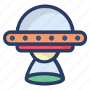 planetary system, scapecraft, science equipment, space shuttle, spaceship icon