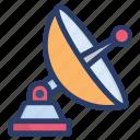 antenna, broadcasting, communication, connection, satellite, satellite dish, technology equipment icon