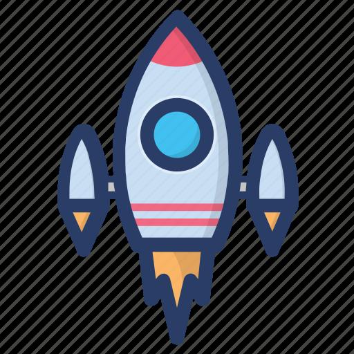 missile, rocket, scapecraft, science equipment, spaceship icon