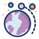 astronomical, astronomy, neptune, planet, planetary system, space icon