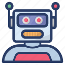 artificial intelligence, astronomy, robot, robot rover icon