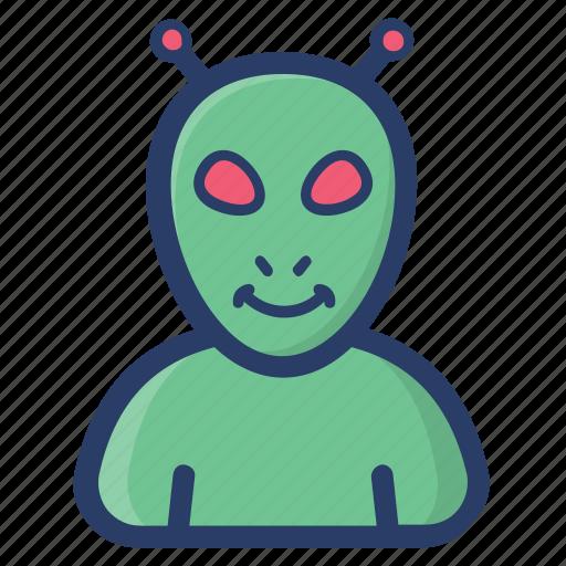 alien, humanoid, space, space alien, space avatar, ufo icon