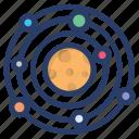 planetary system, solar energy, solar panel, solar system, solar technology, solar wind icon