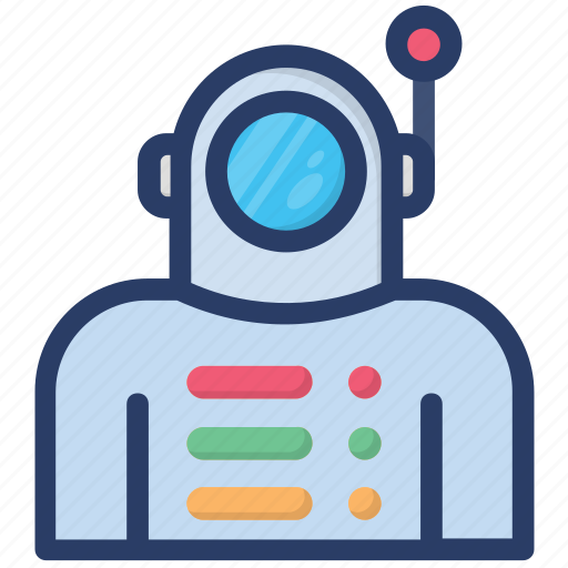 astronaut, astronomy, cosmonaut, futuristic, nasa, space man, space walk icon