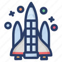 missile launch, rocket missile, science equipment, space technology, space war, war weapon icon