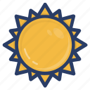 astronomical, astronomy, planet, planetary system, space, sun icon