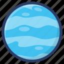 astronomy, planet, planet uranus, planetary system, uranus icon