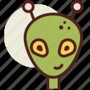 alien1, fantasy, science, world icon
