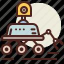 fantasy, mars, robot, science, world icon