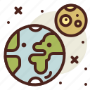 earth, fantasy, mother, science, world icon