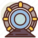accelerator, fantasy, particle, science, world icon