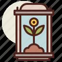 fantasy, plant, science, specimen, world icon