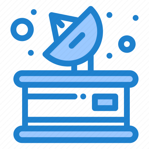 communication, media, parabolic, receiver icon