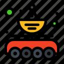 antenna, car, data, parabola, transfer icon