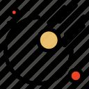 asteroid, astronomy, meteor icon
