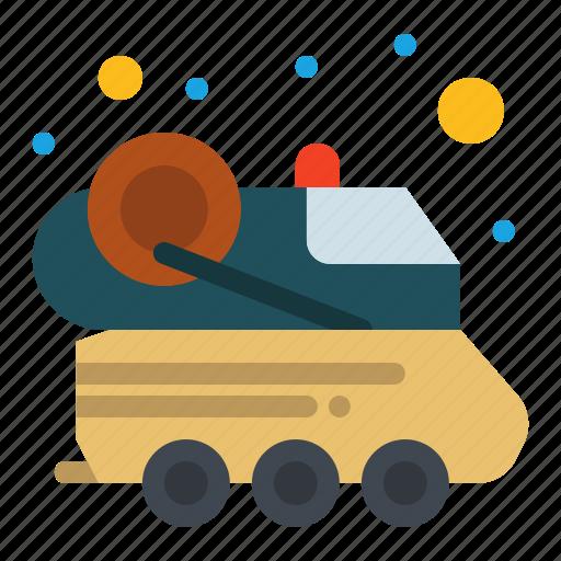 automobile, car, space, spacecraft icon