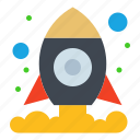 cosmos, shuttle, space icon