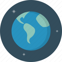 earth, planet, world icon