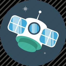 communication, satelite, space, transmission icon
