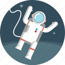 space, spaceman icon
