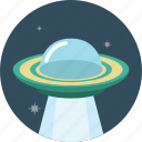 alien, spaceship, ufo icon