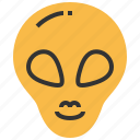 alien, avatar, head, monster, space, ufo icon