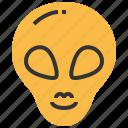 alien, head, avatar, monster, space, ufo