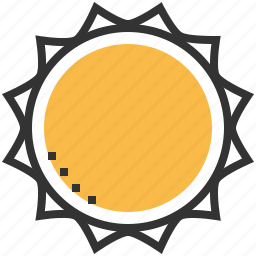 astronomy, solar, space, sun icon