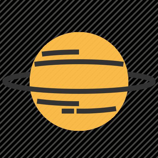 astronomy, cosmos, planet, space, spaceship, uranus icon