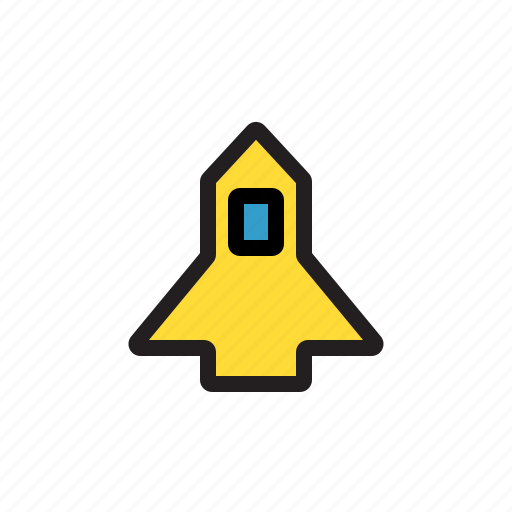 launch, rocket, space, spacecraft, spaceship icon